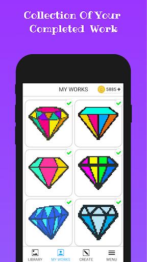 Diamond Color By Number apkmind screenshots 5