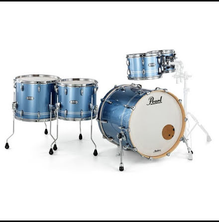Pearl Masters Maple Complete - MCT925XEP - Chrome Contrail
