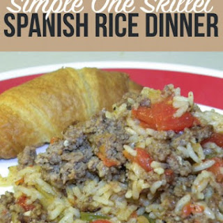 Spanish Rice Dinner.