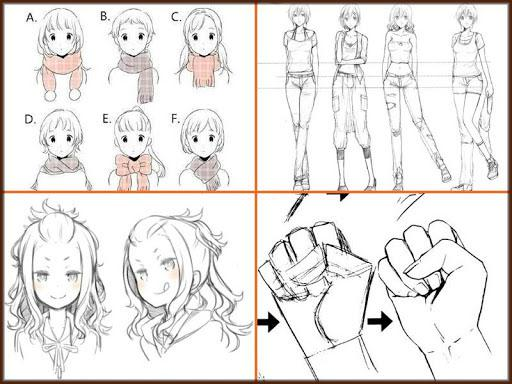 Drawing Anime Step by Steps 2018 screenshots 5