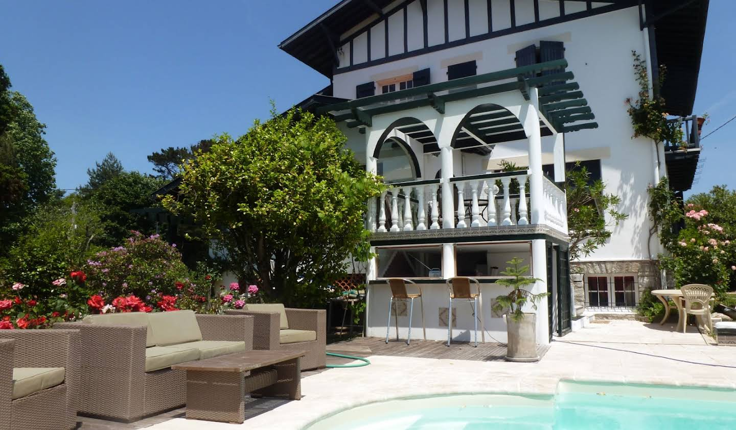House with garden and terrace Biarritz