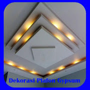 Gypsum ceiling decorations