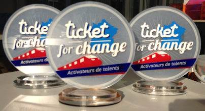 Photo: Trophées Ticket for Change