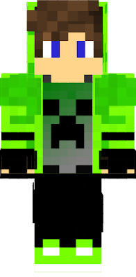 legends skin of mninecraft :3 Among us Man Creeper Mutant