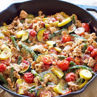 Turkey and Vegetable Skillet.