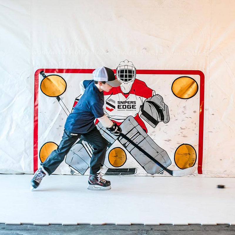 Hockey Shooting Tarp Tricks From The Pros