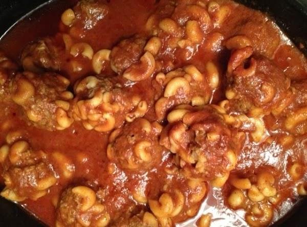 Macaroni Meatballs Recipe