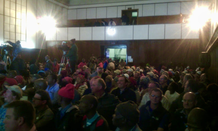 The expropriation of land without compensation hearings in Komani were delayed after EFF disrupted proceedings.