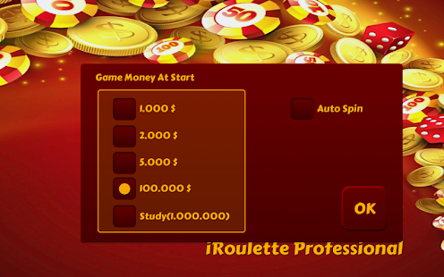 Professional games roulette