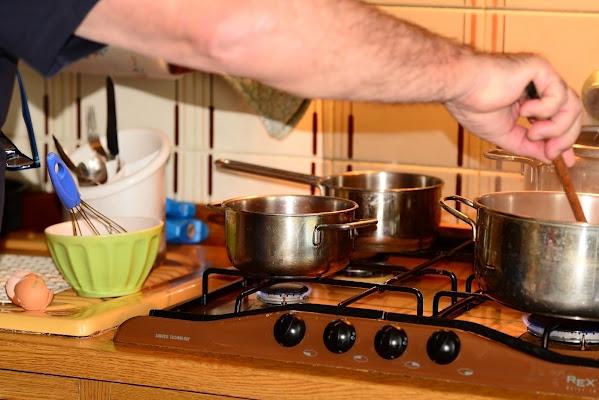 Carbonara in preparazione di acquario