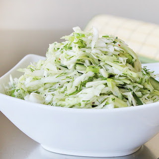 Healthy Vegan Coleslaw