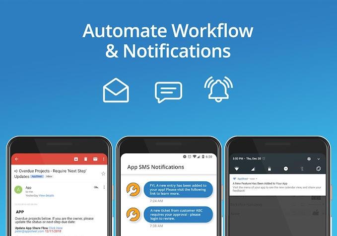 AppSheet Screenshot