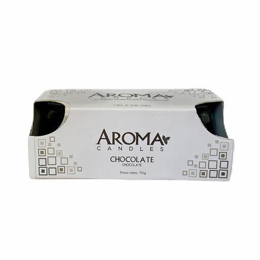 vela gel aroma chocolate 2und