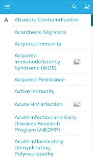 AIDSinfo HIV/AIDS Glossary- screenshot thumbnail
