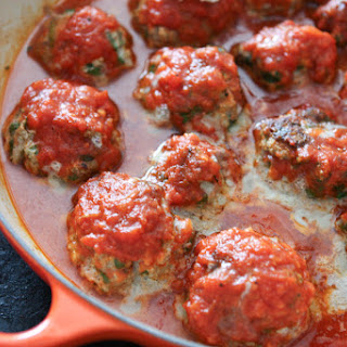 Spinach and Ricotta Meatballs