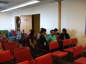 Photo: Before the talk