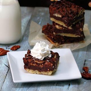 Chocolate Pecan Pie Bars