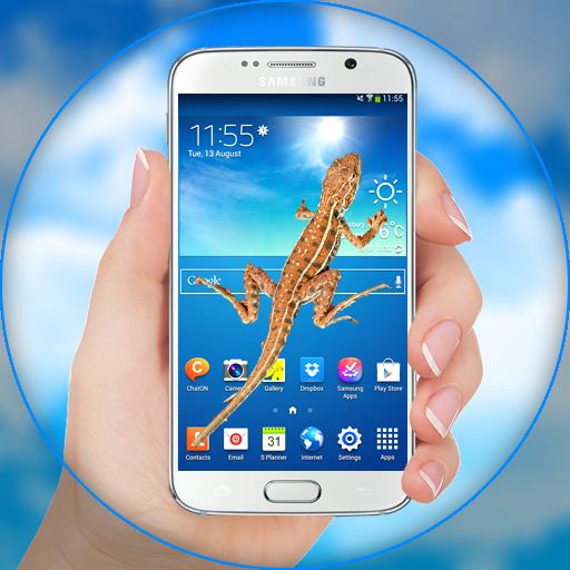 Lizard in phone funny Prank (app)