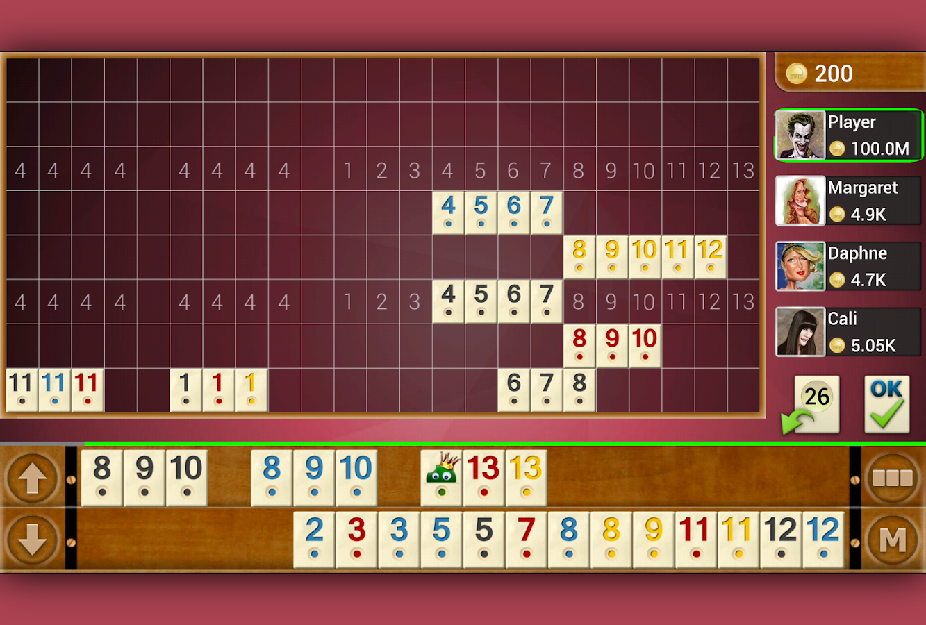 Rummy - Offline- screenshot