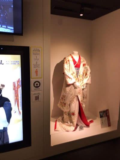 NHK放送博物館「テレビドラマの世界」「実物衣装」