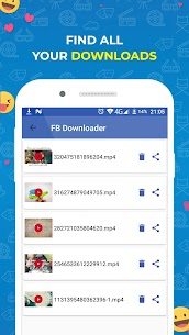 Video Downloader for Facebook Apk  Download For Android 4