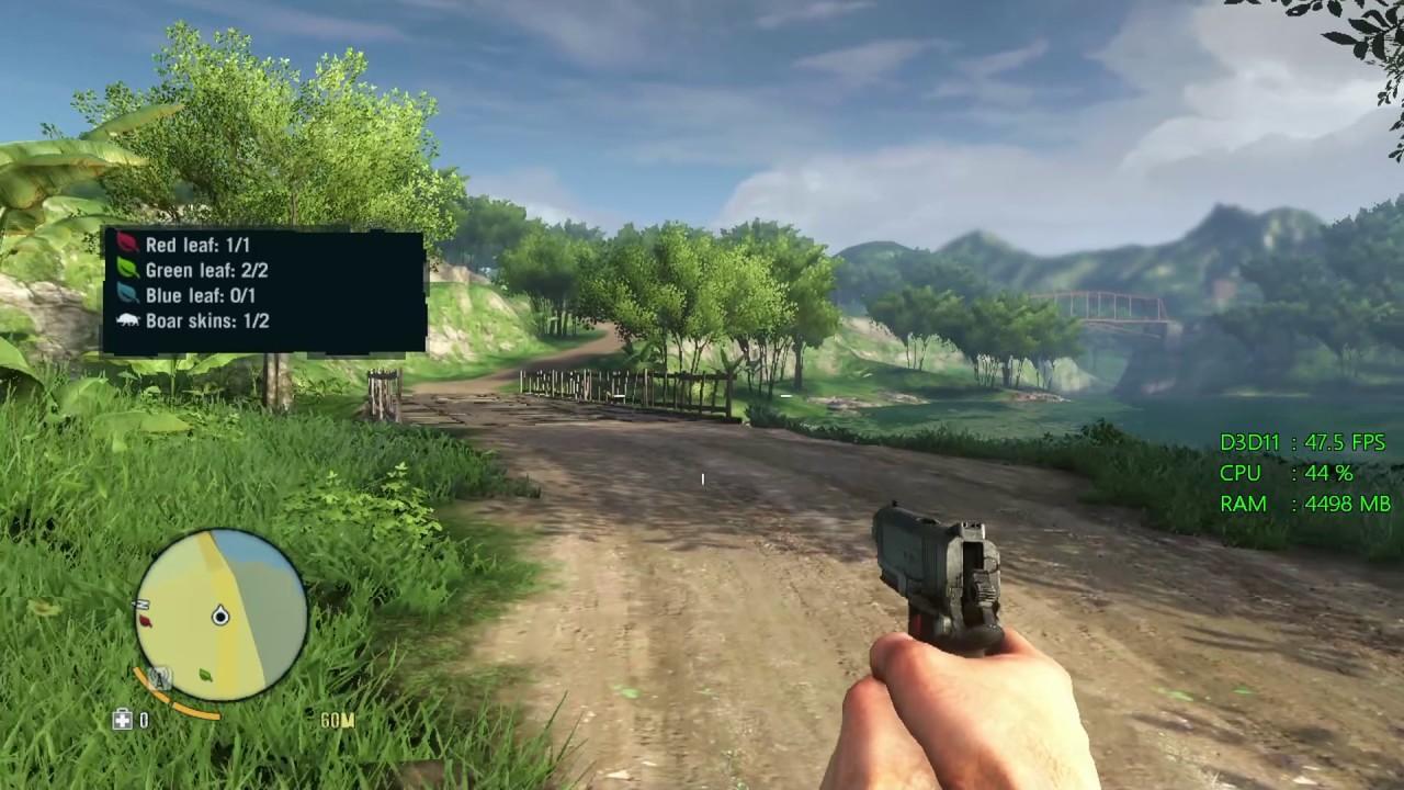 Intel HD Graphics 630 -- Intel Core i3-7100 -- Far Cry 3 FPS Test ...