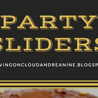 PARTY SLIDERS.