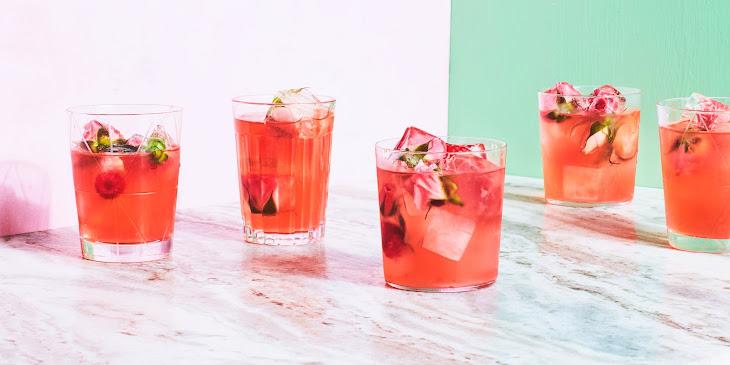 Spiked Rose Lemonade Recipe   Epicurious.Com Recipe