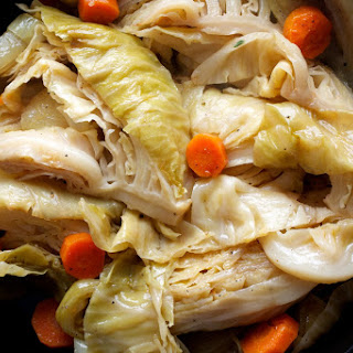 Braised Green Cabbage With Balsamic