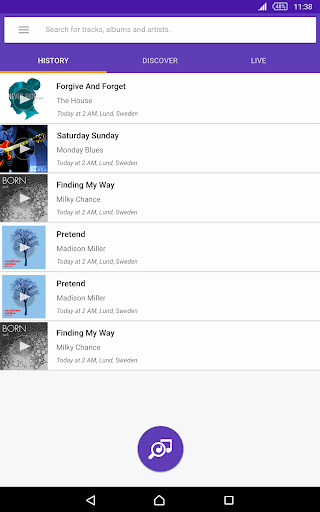 TrackID™ - Music Recognition screenshot 15