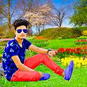 Garden photo editor:  frames icon