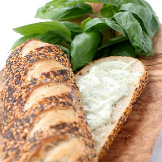 Garlic Basil Mayonnaise
