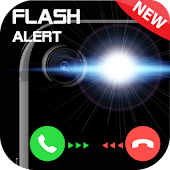 Flashlight on Call & Sms 2018