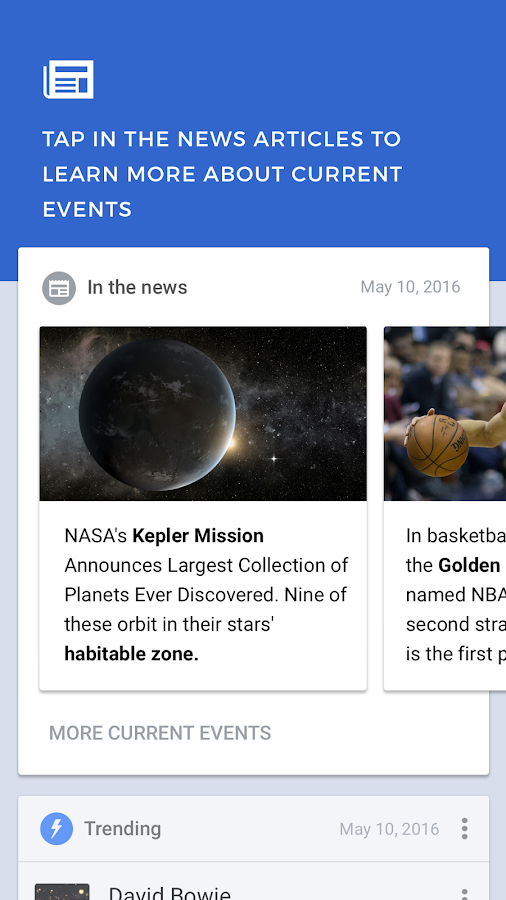 Wikipedia Beta- screenshot
