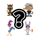 Guess Pixel Cartoon icon