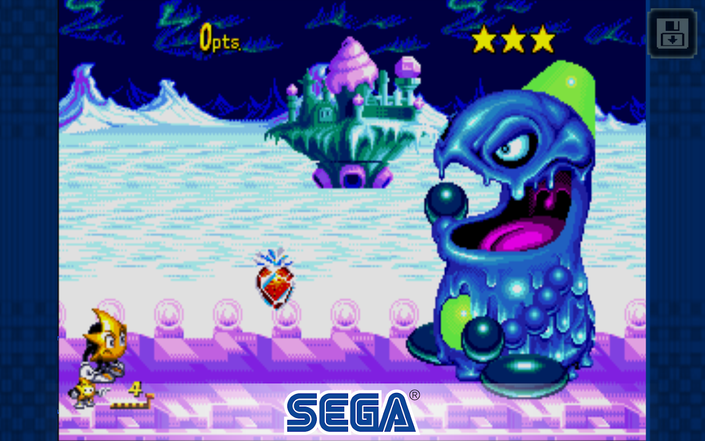 Ristar – Screenshot