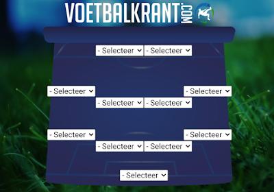 Kies jouw Belgisch elftal uit de Jupiler Pro League van 2019-2020