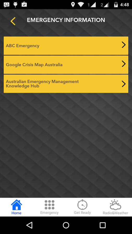 TravelSafe Australia- screenshot