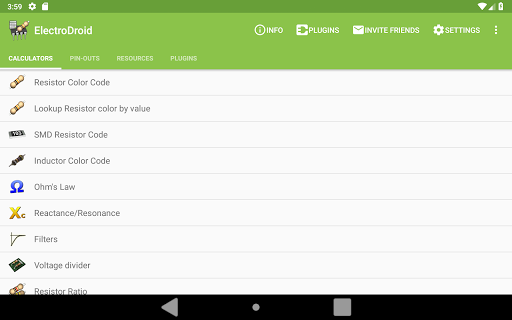 Screenshot for ElectroDroid Pro in Hong Kong Play Store
