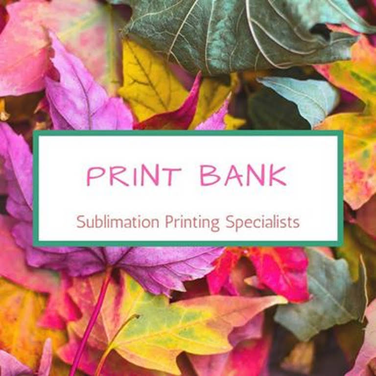 PRINT BANK - Sublimation Specialists, 100 Sq meters in 1 hour