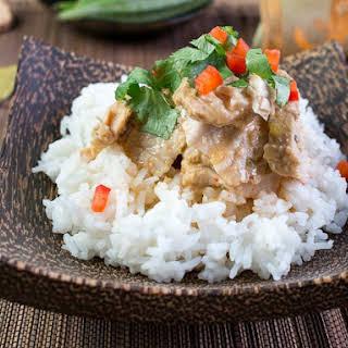 Crockpot Thai Turkey Tenderloin.