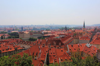 Photo: View from Prague Castle grounds.