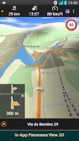 Screenshot of NAVIGON Europe