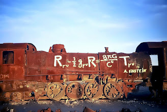 Photo: Uyuni, cmentarzysko pociągów / Old train cemetery