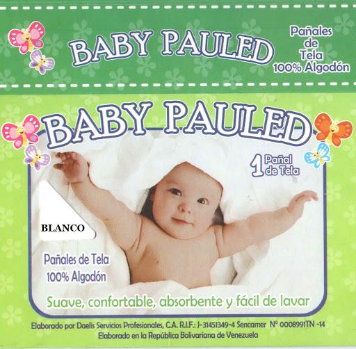 pañales de tela baby pauled blanco 1und