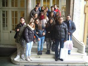 """Photo: 04/02/2015 - Istituto superiore """" Quintino Sella"""" di Asti. Classe II B."""