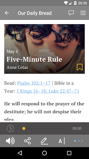 Our Daily Bread 3.2.3 screenshots 2