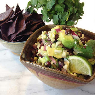 Avocado Lime Black Bean Dip