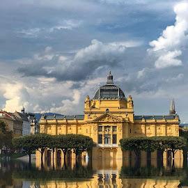 Zagreb by Dunja Milosic Odobasic - Digital Art Places (  )