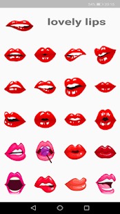 WAStickerApps Kiss - náhled
